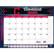Turner Licensing Cleveland Indians 2017 22X17 Desk Calendar (17998061504)