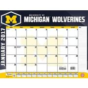 Turner Licensing Michigan Wolverines 2017 22X17 Desk Calendar (17998061483)