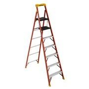 Werner C6200 8 ft. H Fiberglass Step Ladder (C6208)