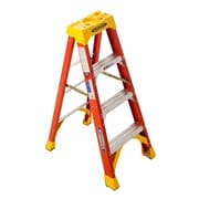 Werner 6200 4 ft. H Fiberglass Step Ladder (6204)