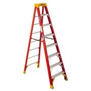 Werner 6200 8 ft. H Fiberglass Step Ladder (6208)