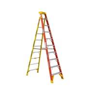 Werner L6200 10 ft. H Fiberglass Step Ladder (L6210)
