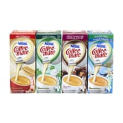 Coffee-Mate Singles Flavor Variety Pack, 50 Count, 4 Pack (283-00025)
