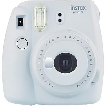 Fujifilm Instax Mini 9 Instant Film Camera, Smokey White (16550629)