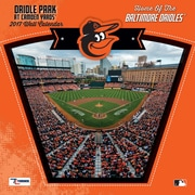 Turner Licensing Baltimore Orioles Camden Yards 2017 12X12 Wall Calendar (17998011987)