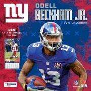 Turner Licensing New York Giants Odell Beckham, Jr. 2017 12X12 Player Wall Calendar (17998011996)