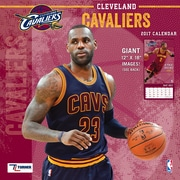 Turner Licensing Cleveland Cavaliers 2017 12X12 Team Wall Calendar (17998011874)