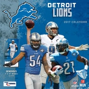 Turner Licensing Detroit Lions 2017 Mini Wall Calendar (17998040562)