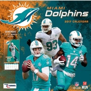 Turner Licensing Miami Dolphins 2017 Mini Wall Calendar (17998040567)