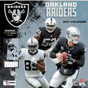 Turner Licensing Oakland Raiders 2017 Mini Wall Calendar (17998040573)