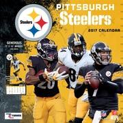 Turner Licensing Pittsburgh Steelers 2017 Mini Wall Calendar (17998040575)