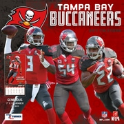 Turner Licensing Tampa Bay Buccaneers 2017 Mini Wall Calendar (17998040580)