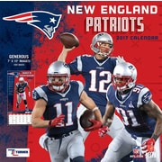 Turner Licensing New England Patriots 2017 Mini Wall Calendar (17998040569)
