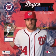 Turner Licensing Washington Nationals Bryce  2017 12X12 Player Wall Calendar (17998012070)