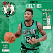 Turner Licensing Boston Celtics 2017 Mini Wall Calendar (17998040548)