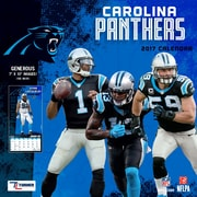 Turner Licensing Carolina Panthers 2017 Mini Wall Calendar (17998040556)