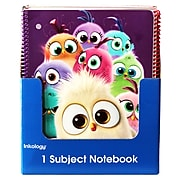 """Angry Birds Hatchlings 1 Subject Theme Book, Assorted, 10.5"""" x 8"""", 12 Piece Value Pack"""