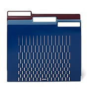 Poppin File Folders, Letter Size, Assorted Jewels, 36 Count (106273)