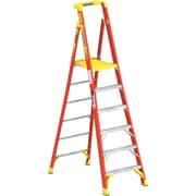 Werner 6 ft. H Fiberglass Step Ladder (PD6206)