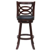 "Boraam Seina 29"" Bar Stool, Cherry (61929)"