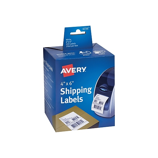 Avery Thermal Shipping Labels, 4