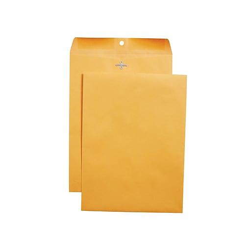 Staples Clasp & Moistenable Glue Catalog Envelopes, 9