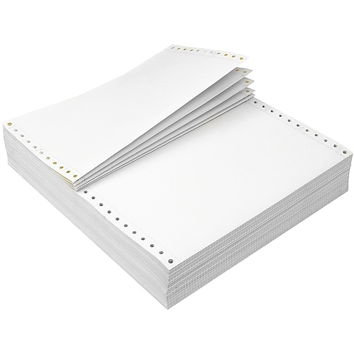"Staples 9.5"" x 5.5"" Business Paper, 15 lbs, 100 Brightness, 3200/Carton (27132/ST177170)"
