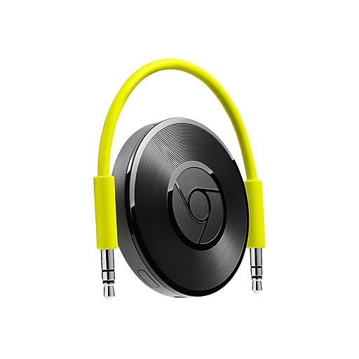 Google Chromecast Audio 811571016587 Streaming Media Player, Black