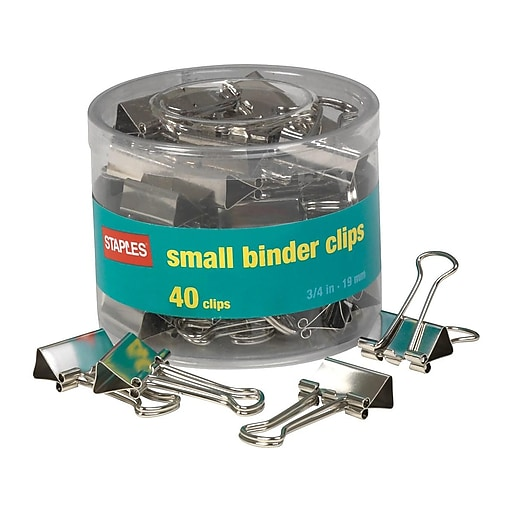 Shop Staples For Staples® Small Satin Silver Metal Binder