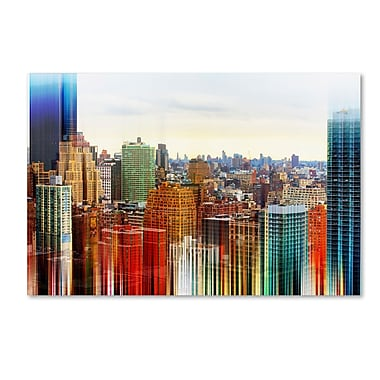 Trademark Fine Art Philippe Hugonnard 'Urban Stretch NYC V' 12