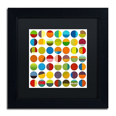 Trademark Fine Art Michelle Calkins 'Forty Nine Circles' 11
