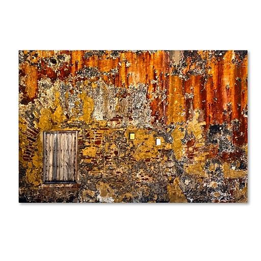 "Trademark Fine Art CATeyes 'Castillo San Cristobal 3' 12"" x 19"" Canvas Stretched (190836037339)"