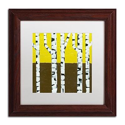 Trademark Fine Art Michelle Calkins 'Seasonal Birches - Fall' 11