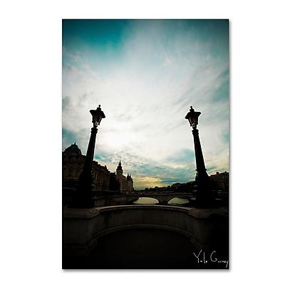 Trademark Fine Art Yale Gurney 'Paris Deux - Gates of Seine' 12