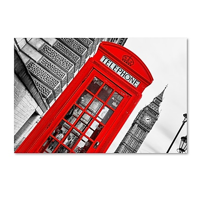 Trademark Fine Art Philippe Hugonnard 'London' 12