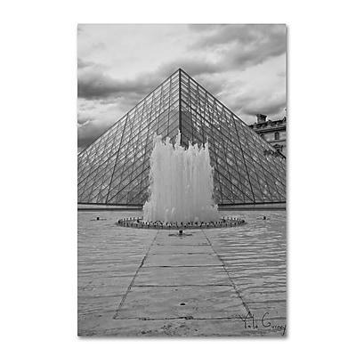 Trademark Fine Art Yale Gurney 'Paris Deux - Louvre' 12