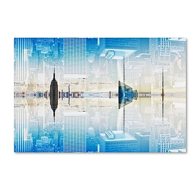 Trademark Fine Art Philippe Hugonnard 'New York Reflection X' 12
