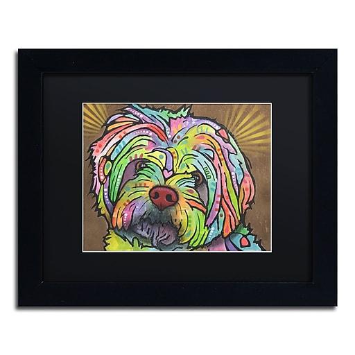 """Trademark Fine Art Dean Russo 'Amy' 11"""" x 14"""" Matted Framed (190836172986)"""