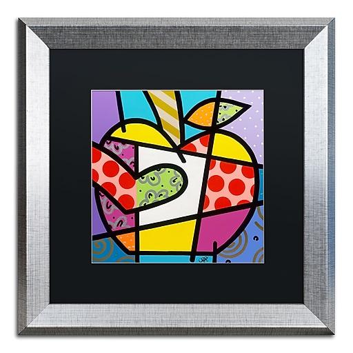 "Trademark Fine Art Roberto Rafael 'Big Apple I' 16"" x 16"" Matted Framed (190836278947)"