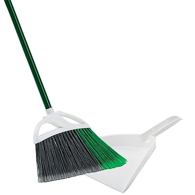 Libman Large Precision Angle® Broom with Dust Pan, 4 Pack (#248)