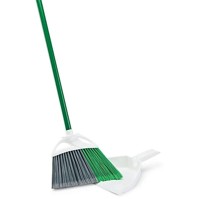 Libman Precision Angle® Broom with Dust Pan, 4 Pack (206)