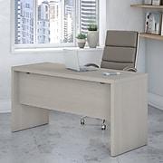 Office by kathy ireland® Echo 60W Credenza Desk, Gray Sand (KI60206-03)