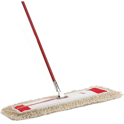 Libman 36 Quot Dust Mop 360 Degree Swivel 6 Pack 924 Staples