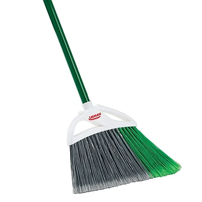 Libman Large Precision Angle® Broom, Steel Handle, 6 Pack (#205)