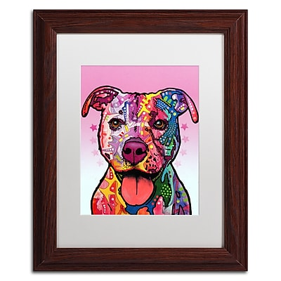 Trademark Fine Art Dean Russo 'Cherish The Pitbull' 11