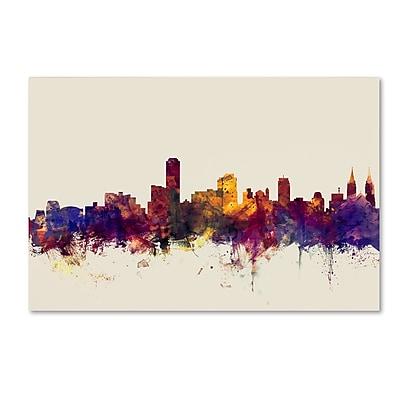 Trademark Fine Art Michael Tompsett 'Adelaide Australia Skyline' 12