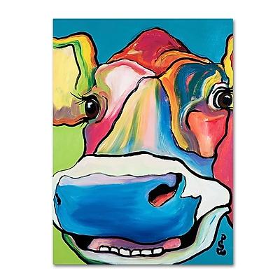 Trademark Fine Art Pat Saunders-White 'Dairy Queen' 14