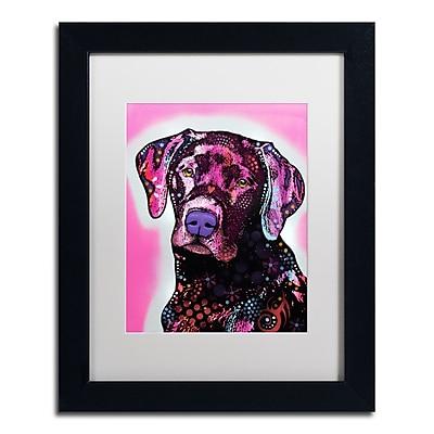 Trademark Fine Art Dean Russo 'Black Lab' 11