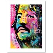 "Trademark Fine Art Dean Russo 'Ringo Starr' 18"" x 24"" Paper Rolled (190836154524)"