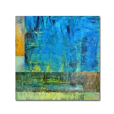 Trademark Fine Art Michelle Calkins 'Essence of Blue 2' 18